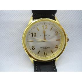 Relógio Potenzia Analogio Usado Como Mostruário