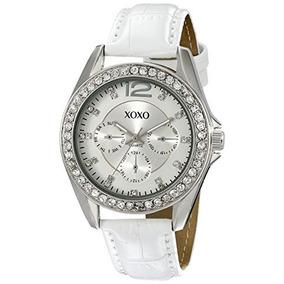 60b19c8be22d4 Xoxo Xo3186 Reloj Acentuado Con Diamantes De Imitacion Para