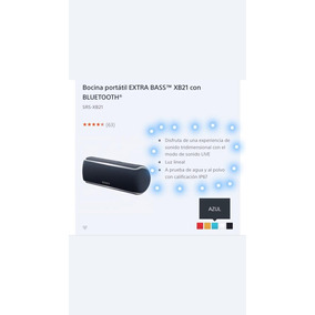 Corneta Sony Bluetooth Nueva