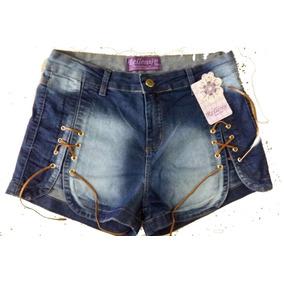 Shorts Jeans Plus Size Hot Pants Promoçao 44/54 5botoes