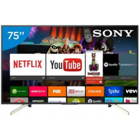 Smart Tv Led 75 Sony 4k Ultra Hd Xbr-75x905f Android