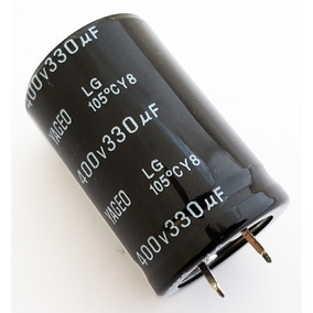 Capacitor Eletrolítico 330uf 400v 105 Gruas - 330x400-105