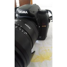 Câmera Sigma Sd14 + Lente Sigma 24-135mm 2.8