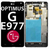 Tela Touch Display Lcd Lg Optimus G E975 E977 C/ Aro - M0103