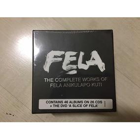 Fela The Complete Works Of Fela Anikulapo Kuti 46 Álbuns Dvd