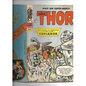 Álbum Gigante N° 5 O Poderoso Thor Editora Ebal 1968