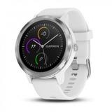 Relogio Inteligente Garmin Vivoactive 3 Smartwatch Branco
