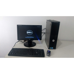 Dell Optiplex 380 Core2duo 4gb + Monitor Wide + Wifi