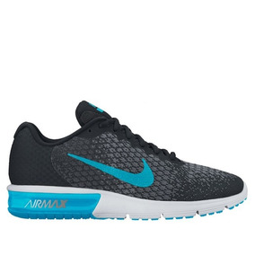 Tenis Nike Air Max Sequent 2 Negro Hombre Originales ·   328.000 bef4e3e62f4