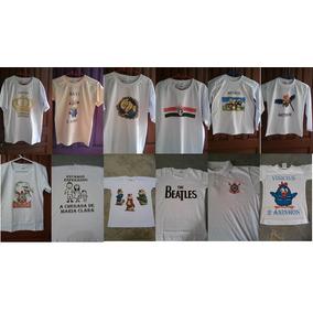 ee5bcd4050 Camiseta De Algodão - Poliester - Malha Fria - Piquet