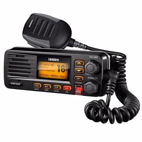 Radio Vhf Marítimo Uniden Solara Dsc Um-380 Homologado Preto