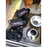 Monolights Profesionales Norman Ml400 Perfecto Estado