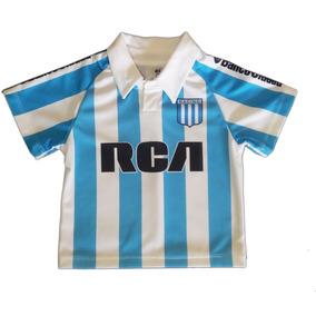 Camiseta Fútbol Racing Bebe Personalizada Estampada