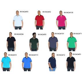 Camisa Polo Extra Grande Atacado - Pólos Manga Curta Masculinas no ... 9f565e9dd9558