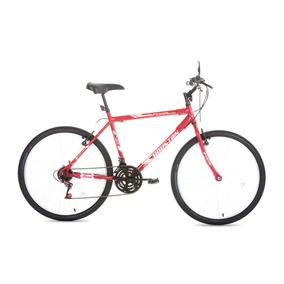 Bicicleta Passeio Aro 26 Foxer Hammer Vermelha Houston