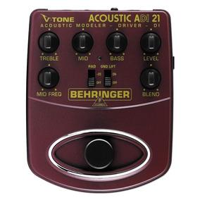 Pedal Behringer P/ Violão V-tone Acoustic Adi21