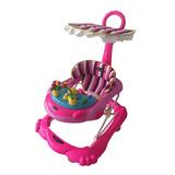Baby Kits - Andador Para Bebé Abejita - Rosado Y Morado