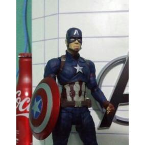 2b2a5cfebb Mascara De Capitao America Guerra Civil - Brinquedos e Hobbies no ...