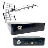 Combo Decodificador Tda Hd + Antena Yagi + 10mts Cable Promo