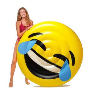 Emoji Lol Flotador Inflable Gigante Floatie Kings