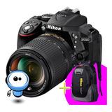 Nikon D5300 24.2mp Wifi G R A T I S Lente + Memoria + Maleta