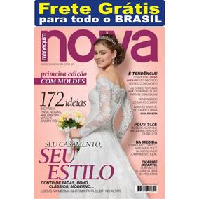 Noiva Revista Manequim Especial Moldes Nova Frete Grátis