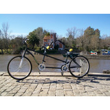 Bicicletas Tandem. Poly-rodados.