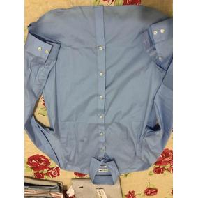 Camisa Social Lacoste Original Tecido Top Strech Tamanho 40