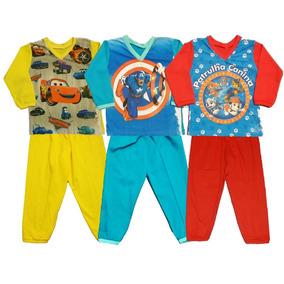 Kit C/ 6 Pijama Infantil Masculino-promoção Heróis Mickey