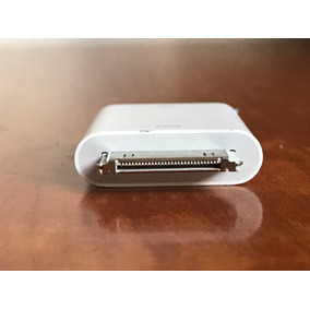 Adaptador Ipad Iphone Clasico 30 Pines Usb Camaras Pendrives