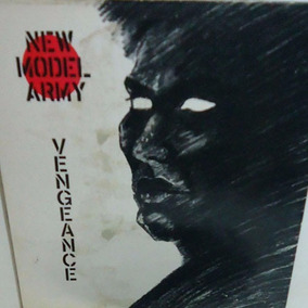 New Model Army 1984 Vengeance Lp Christian Militia