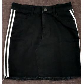 Faldas Para Cristianas En Jeans - Polleras de Mujer Negro en Mercado ... 42a18dbd36ba