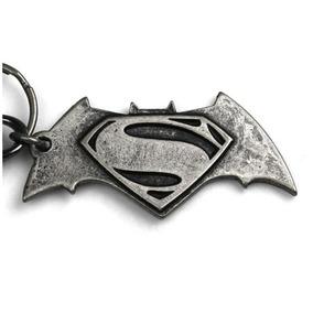 Chaveiro De Metal - Batman Vs Superman - Oficial Dc Comics