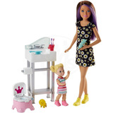 Muñeca Barbie Skipper Babysitters Mattel Fhy97 Mundo Manias