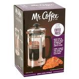 Mr. Coffee 1.2 Quart (1.1 Liter) French Coffee Press Mesh Fi