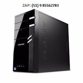 Pc Gamer Megaware I5 3.00ghz 4 Gb 500gb Hd Video 1gb 126bits