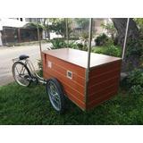 Fabricamos Carritos Triciclos Personalizados Para Alimentos