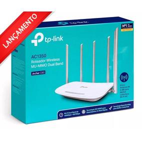 Roteador Tp Link Wifi Dual Band Ac1350 Archer C60 5 Antenas!