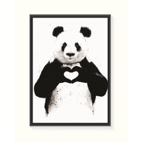 Pôster Panda - Médio