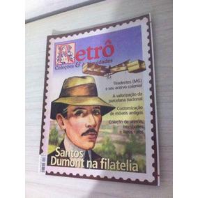 Revista Retro Coleções E Antiguidades Santos Dumont Filateli
