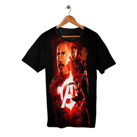 Camiseta Camisa Avengers 7
