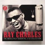 3 Cd Musica Ray Charles Soul Jazz Blues Exitos Originales