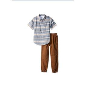 Paquete Calvin Klein 2 Camisas 2 Pantalones Niño Casual