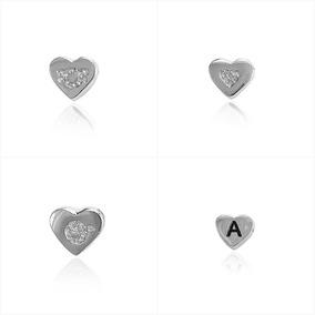 Colar Heart Com 3 Pingentes A Sua Escolha