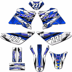 Kit Adesivos Gráficos Moto Xtz-125 Completo Mod Md-23