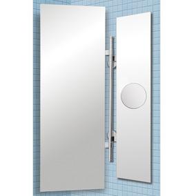 Espejo Baño Rectangular Flip Borde Pulido Reflejar Aumento