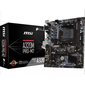 Motherboard Msi B350m Pro-m2 Am4 Ryzen Hdmi Vga
