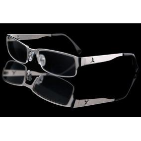 2c93112301fa6 Armação P  Óculos De Grau Johnny Shades Cayman Prateado