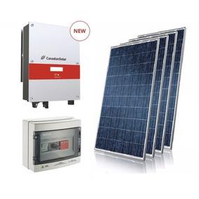 Gerador De Energia Solar Canadian Solar 1,32 Kwp