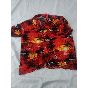 Camisa Arena Bay Talla Xl (moda Casual,hawaiiana,tropical,pl